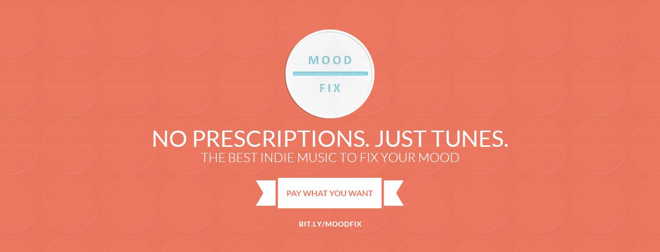 Moodfix promotional materials