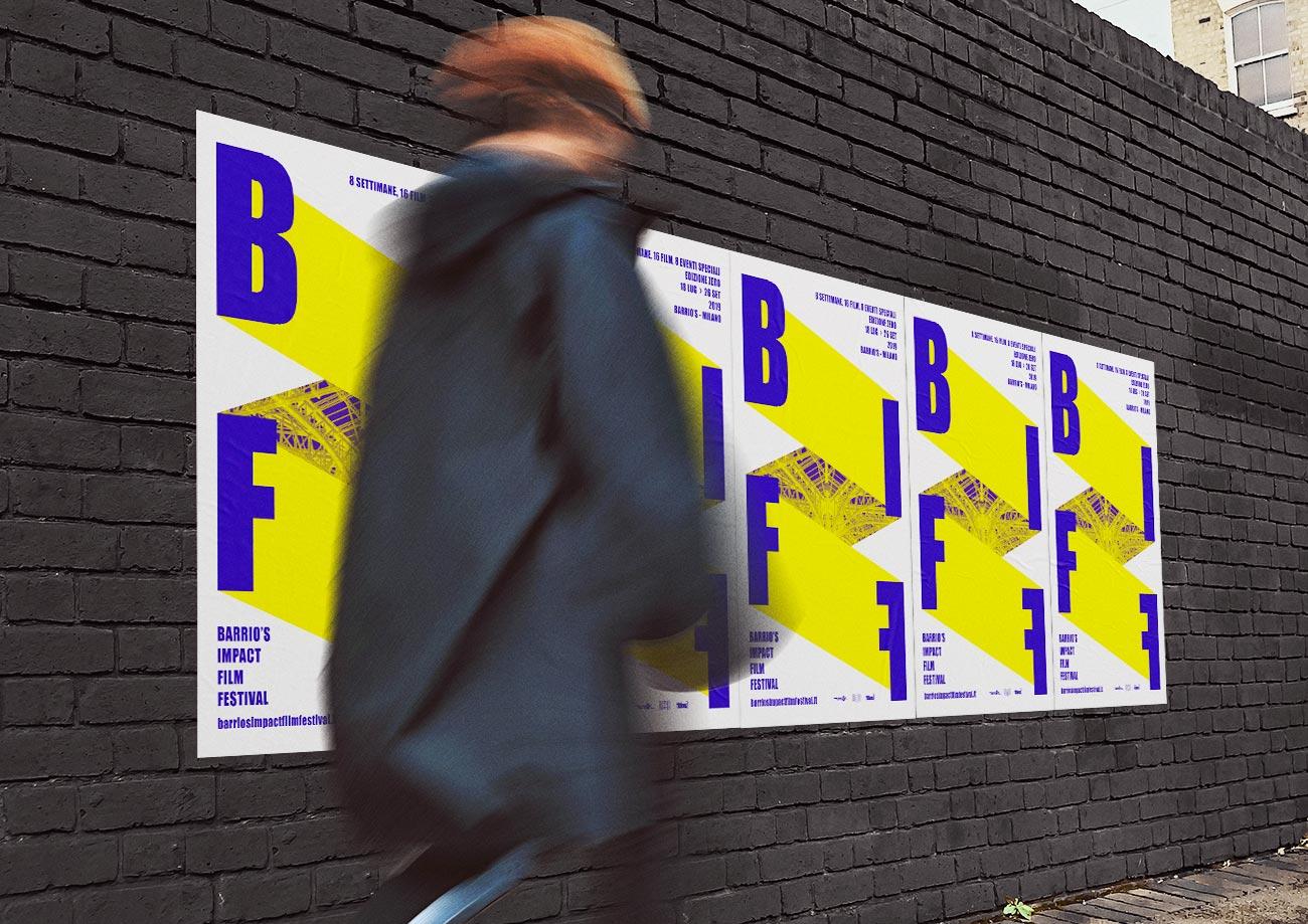 Poster design for the festival