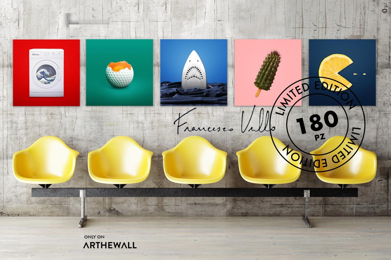 Francesco Vullo special edition on Arthewall