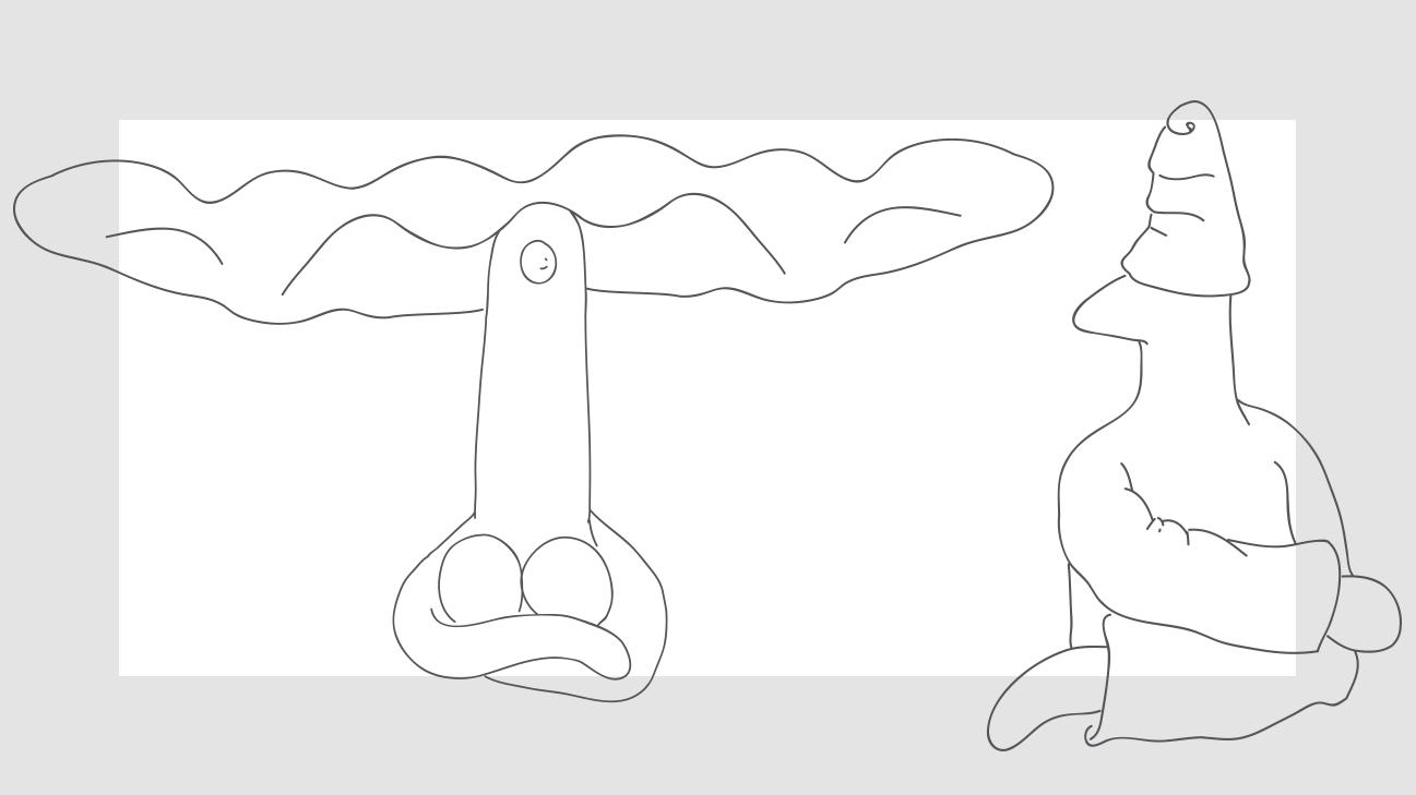 Lina & Totonno drawing