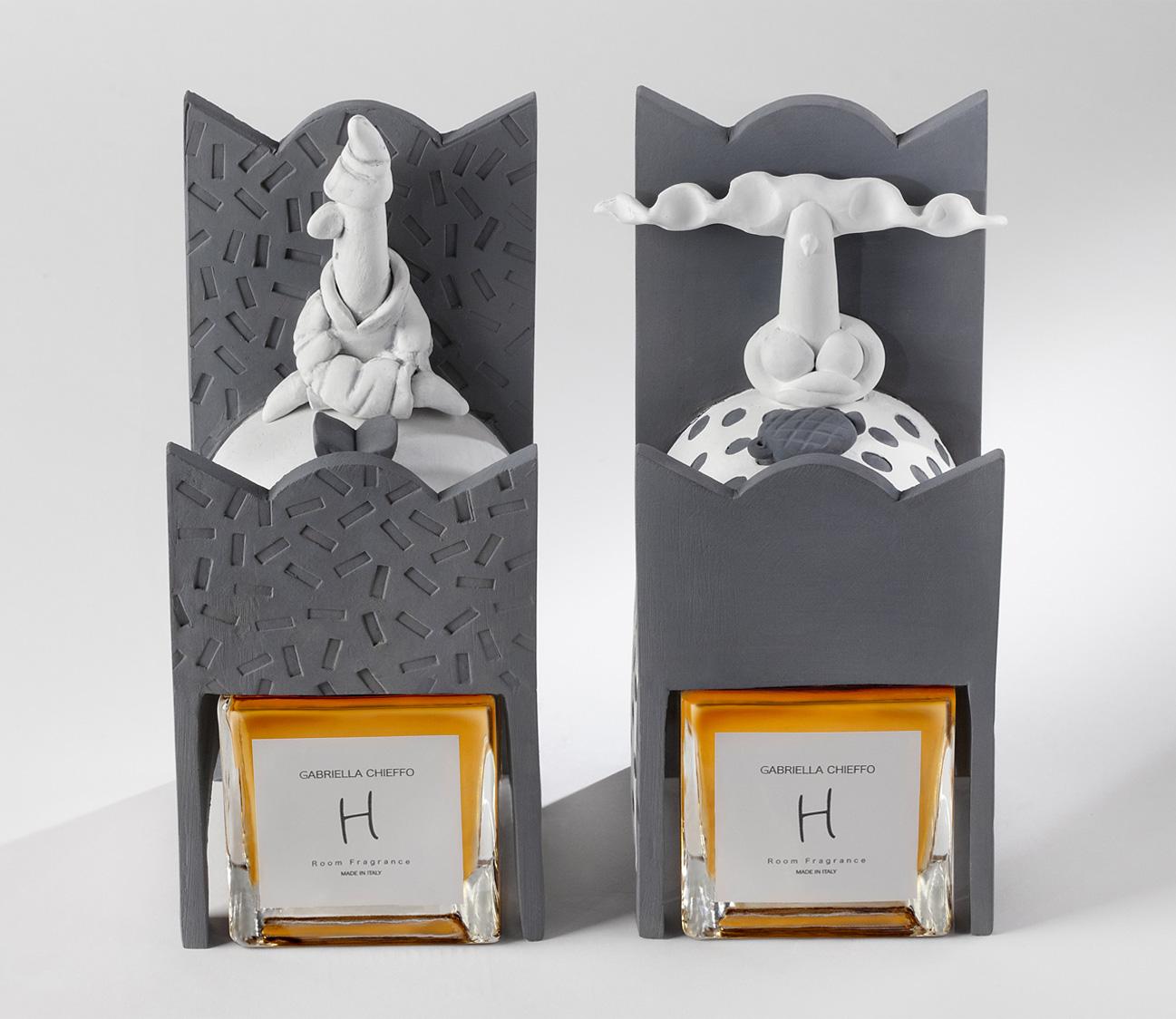 Lina & Totonnno sculptures fragrances