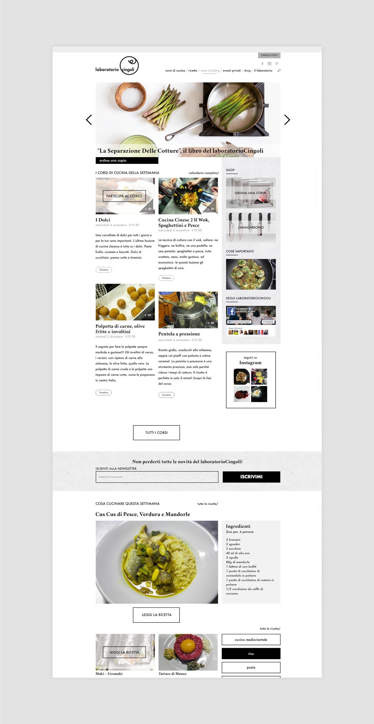 laboratorioCingoli homepage
