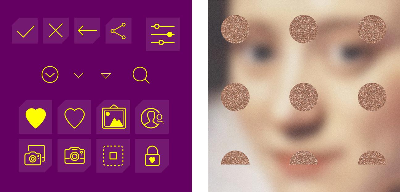 Glossom UX UI icons