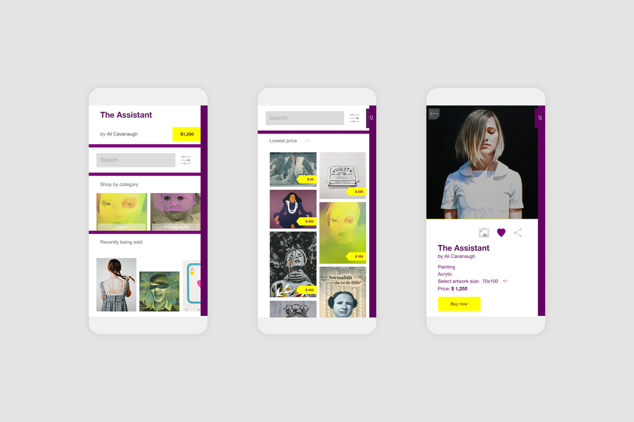 Glossom app internal pages